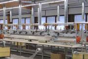 Fertigungsanlage für GFK-Masten