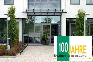 """Neudeck & Dransfeld Eingangsbereich, """"100 Jahre Tradition in Bewegung"""""""